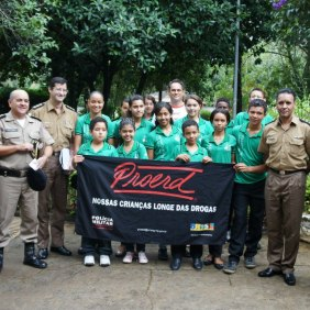 Banda Vitalina Correa no PROERD