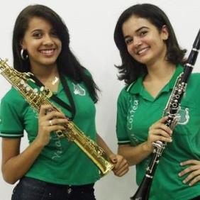 Sarah Katelly e Luiza Barbosa